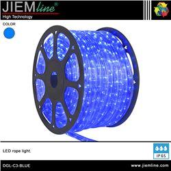 MANGUERA LED AZUL 3 HILOS - DGL-C3-BLUE