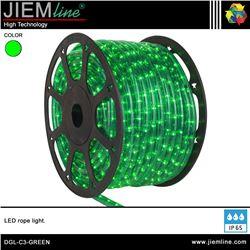 MANGUERA LED VERDE 3 HILOS - DGL-C3-GREEN