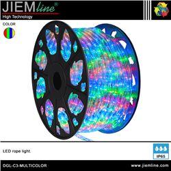 MANGUERA LED RGBY 3 HILOS - DGL-C3-MULTICOLOR