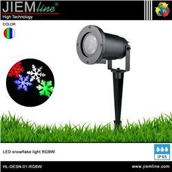 LUMINARIA LED SNOWFLAKE RGBW 4W - HL-DESN-01-RGBW