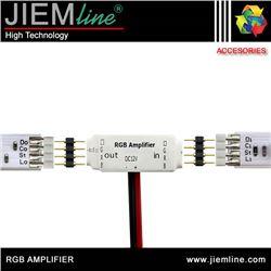 AMPLIFICADOR SEÑAL TIRA LED RGB - RGB AMPLIFIER
