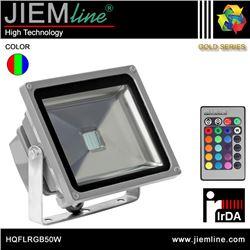 PROYECTOR LED RGB 50W IrDA - HQFLRGB50W