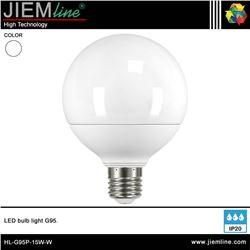 LÁMPARA LED E27 BLANCO NEUTRO 15W - HL-G95P-15W-W