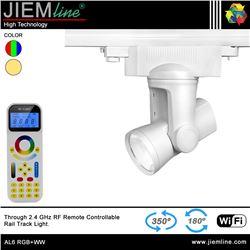 LÁMPARA LED TRACK LIGHT RGB+WW 25W WIFI 2,4 Ghz - AL6 RGB+WW-1