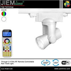 LÁMPARA LED TRACK LIGHT RGB+CW 25W WIFI 2,4 Ghz - AL6 RGB+CW-1