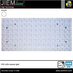 MODULO LED RECTANGULAR BLANCO PURO IP20 - YS-F001-3105-1T-PW
