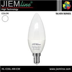 LÁMPARA LED E14 BLANCO FRÍO 4W - HL-C35L-4W-CW
