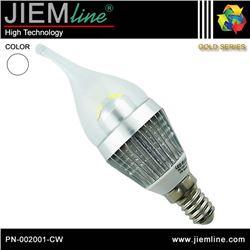LÁMPARA LED E14 BLANCO FRÍO 3W - PN-002001-CW