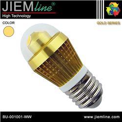 LÁMPARA LED E27 BLANCO CÁLIDO 3W - BU-001001-WW