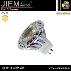 LÁMPARA LED MR11 BLANCO CÁLIDO 3W - GG-MR11-S3WA-WW