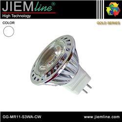 LÁMPARA LED MR11 BLANCO FRÍO 3W - GG-MR11-S3WA-CW