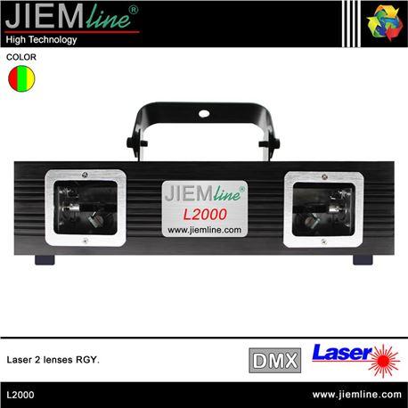 LÁSER 2 LENTES RGY - L2000-1
