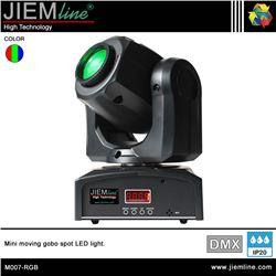 CABEZA MOVIL GOBO SPOT LED RGB - DMX 30W - M007-RGB-1
