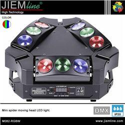 CABEZA MOVIL SPIDER LED RGBW - DMX 80W - M082-RGBW-1