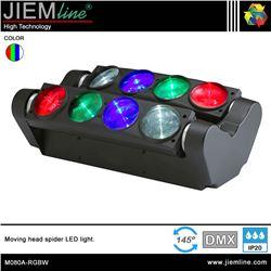 CABEZA MOVIL SPIDER LED RGBW - DMX 80W - M080A-RGBW-1