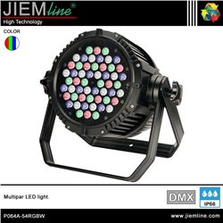 MULTIPAR LED RGBW - DMX 162W - P064A-54RGBW-1