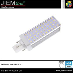 LÁMPARA LED G24 BLANCO FRIO 8W - G24-8W-40SMD2835-CW