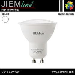 LÁMPARA LED GU10 BLANCO FRÍO 5,3W - GU10-5.3W-CW