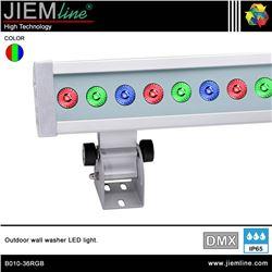 BAÑADOR DE PARED LED RGB - DMX 72W - B010-36RGB-1