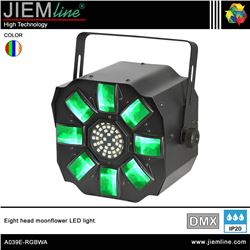 EIGHT MOONFLOWER LED RGBWA - DMX 40W - A039E-RGBWA-1