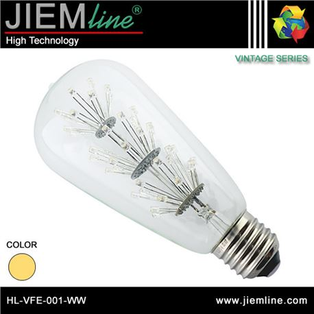 LÁMPARA LED E27 BLANCO CÁLIDO 1,6W - HL-VFE-001-WW