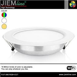 DOWNLIGHT LED RGB+CCT 12W WIFI 2,4 Ghz - FUT-066 RGB+CCT-1