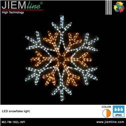 COPO NIEVE 2D LED WY 500X500 mm - M2-7M-182L-WY