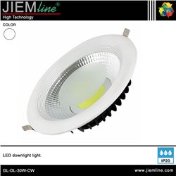 DOWNLIGHT LED BLANCO FRÍO 30W - GL-DL-30W-CW