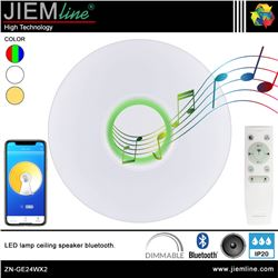 PLAFON LED TECHO RGB+CCT 27W BLUETOOTH - ZN-GE24WX2-1