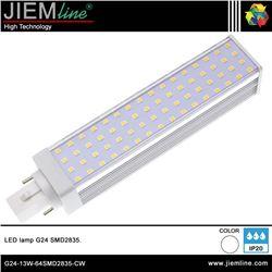 LÁMPARA LED G24 BLANCO NEUTRO 13W - G24-13W-64SMD2835-CW