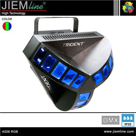CABEZA TRIDENT LED RGB - DMX 20W - A026 RGB