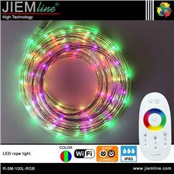 MANGUERA LED RGB 5m / 100 Leds WIFI 2,4 Ghz - R-5M-100L-RGB-1