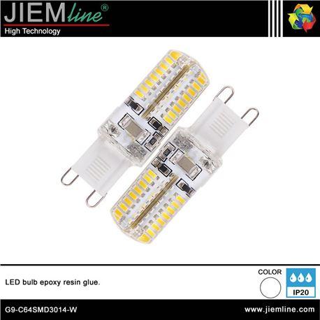 LÁMPARA LED G9 BLANCO NEUTRO 3W - G9-C64SMD3014-W