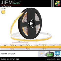 TIRA FOB LED BLANCO CÁLIDO 24V DC IP20 - EL-FOB-504-24VWW-IP20
