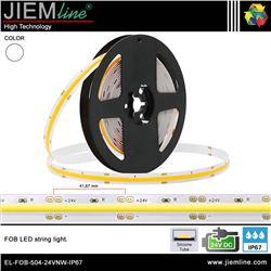 TIRA FOB LED BLANCO NEUTRO 24V DC IP67 - EL-FOB-504-24VNW-IP67