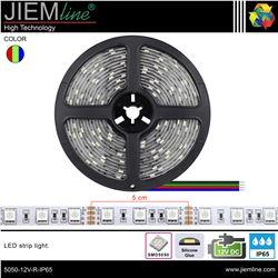TIRA LED RGB 12V DC IP65 - 5050-12V-RGB-IP65