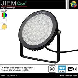 PROYECTOR SLIM LED RGB+CCT 15W WIFI 2,4 Ghz - FUT-C03 RGB+CCT-1