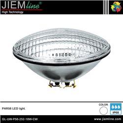 LÁMPARA LED PAR56 BLANCO FRÍO 18W - GL-UW-P56-252-18W-CW