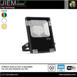 PROYECTOR SLIM LED RGB+CCT 10W WIFI 2,4 Ghz - FUT-T05 RGB+CCT-1