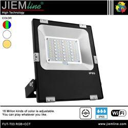 PROYECTOR SLIM LED RGB+CCT 30W WIFI 2,4 Ghz - FUT-T03 RGB+CCT-1