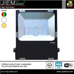 PROYECTOR SLIM LED RGB+CCT 50W WIFI 2,4 Ghz - FUT-T02 RGB+CCT-1