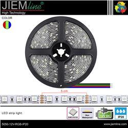 TIRA LED RGB 12V DC IP20 - 5050-12V-RGB-IP20