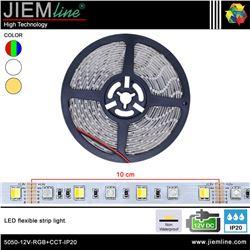 TIRA LED RGB+CCT 12V DC IP20 - 5050-12V-RGB+CCT-IP20