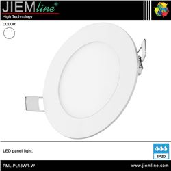 PANEL LED REDONDO BLANCO NEUTRO 18W - PML-PL18WR-W