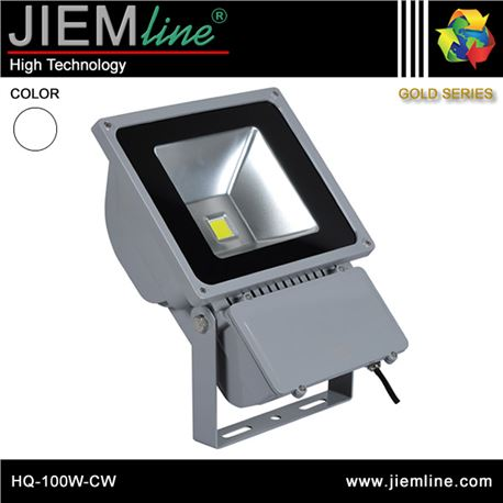 PROYECTOR LED BLANCO FRÍO 100W - HQ-100W-CW