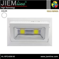 PROYECTOR LED RECTANGULAR BLANCO NEUTRO 40W - HL-RPC40W-W
