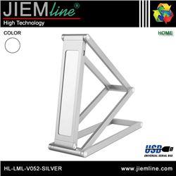 LÁMPARA LED SOBREMESA BLANCO FRIO 3W - HL-LML-V052-SILVER-01