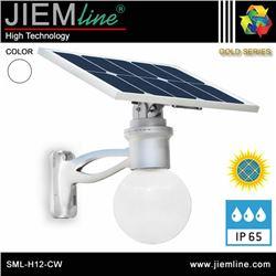 LUMINARIA LED SOLAR BLANCO FRIO 6W - SML-H12-CW 01