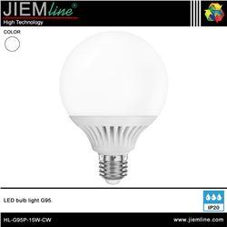 LÁMPARA LED E27 BLANCO FRÍO 15W - HL-G95P-15W-CW