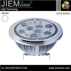 LÁMPARA LED AR111 G53 BLANCO FRÍO 9W - HL-G53-EP91WV12-CW